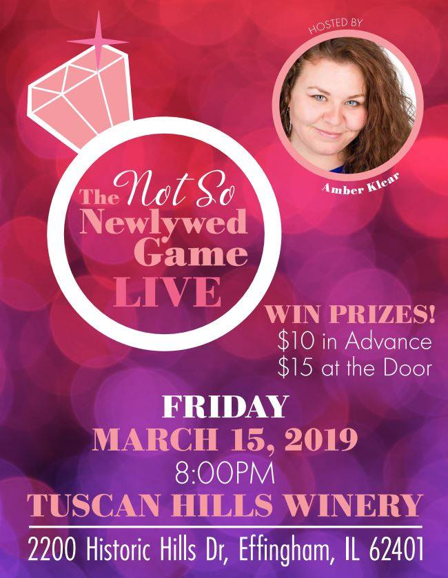 The Not So NewlyWed Game | Tuscan Hills Winery
